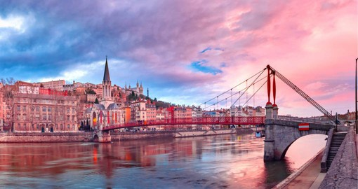 Lyon is known for its cuisine, historical and architectural landmarks