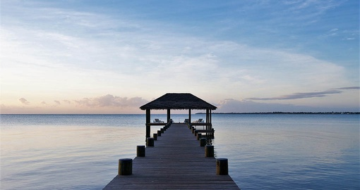 Get some peace and quiet at Naia Resort on your Belize Tour