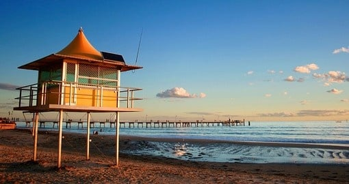 Glenelg is a popular beach-side suburb of Adelaide