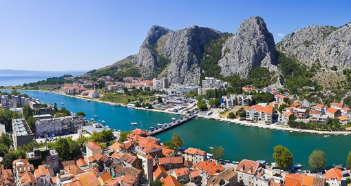 Costal town of Omis