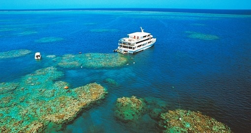 Exclusive Great Barrier Reef Moorings, you can't get any closer