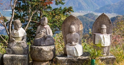 Visit this hot spring town and enjoy the wonderful spas and statues on your Trip to Japan