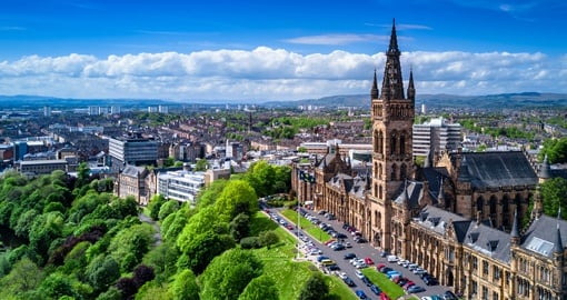 Enjoy some of the traditional architecture of historic Glasgow on your Scotland Tour