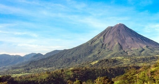 See famous Arenal volcano on your Costa Rica Tour