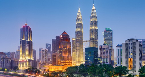 Experience culture, food and history that fills the city of Kuala Lumpur on your Malaysia Tour