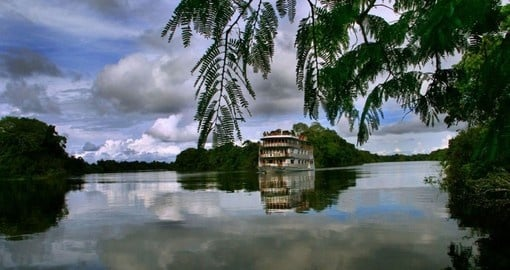 Sail the Amazon on your trip to Brail