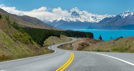 On the road in the South Island