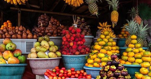 A common fruit stall