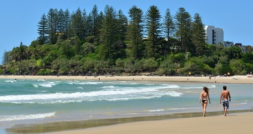 Walks on Coolangatta Beach
