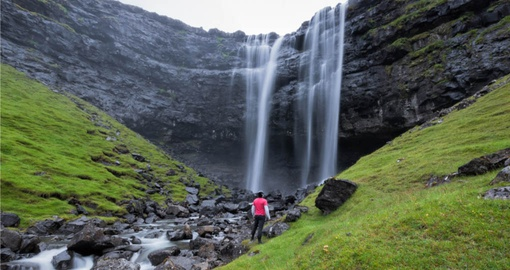 Experience hiking in Faroe Islands during your next Denmark tours.