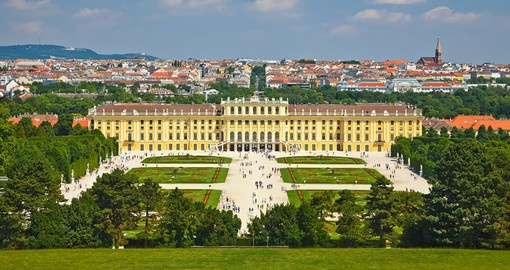 "The 1,441-room Baroque Schonbrunn Palace was named after the artesian well ""Beautiful Spring"""