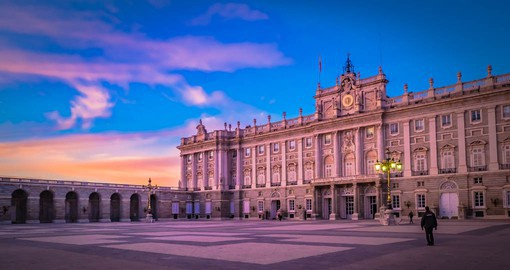 Home to the Kings from Charles III to Alfonso XIII, Madrid's Royal Palace continues as the official residence of the Monarch