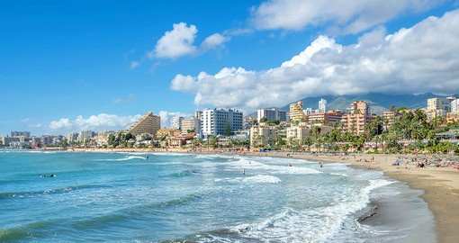 Benalmadena beaches vary from wide, sandy beaches perfect for families to more rocky beaches for serious swimmers