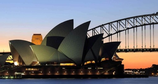 Include a visit to Sydney's Opera House as part of your Australia vacation