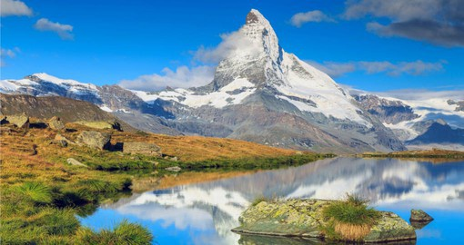 Located at the foot of the Matterhorn, Zermatt is one of the world's most attractive vacation villages