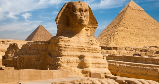 A beautiful profile of the Great Sphinx