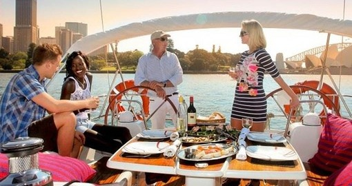 Enjoy a luxury sailing adventure on your Australia Vacation