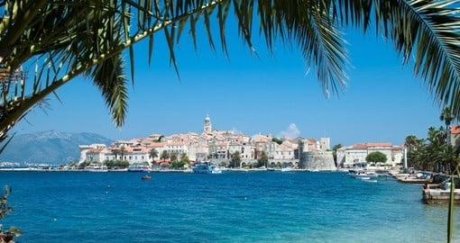Get some adriatic sun in Korcula on your trip to Croatia