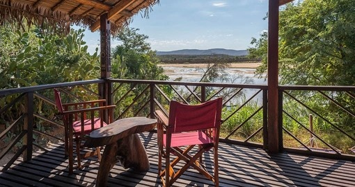 Your Madagascar Tour includes a stay at the Mandrare River Camp