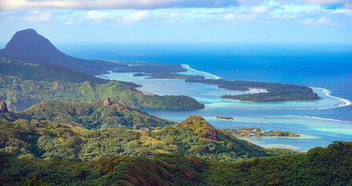 Huahine, with it's lush forests and crystal-clear lagoon is one of Tahiti's best kept secrets