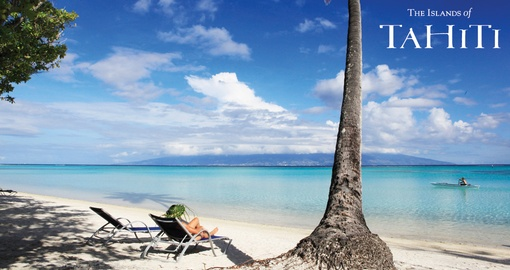 Relax on the beach at Sofitel Moorea