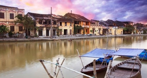 The old town of Hoi An