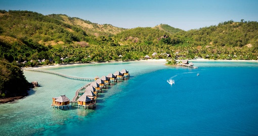 Get away from it all at LikuLiku Lagoon Resort on your trip to Fiji