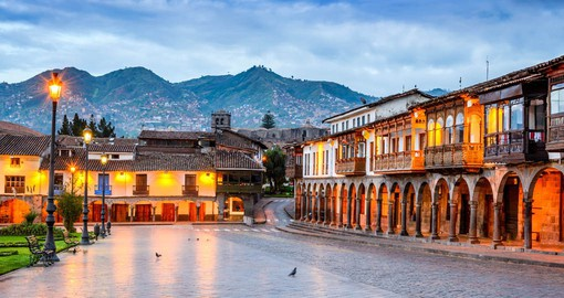 Cusco, the historic capital of Peru, is the gateway to the Sacred Valley and Andean countryside