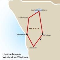 Ultimate Namibia: Windhoek to Windhoek
