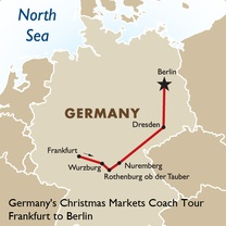Germany's Christmas Markets Coach Tour: Frankfurt to Berlin