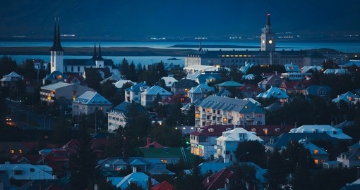 Experience Reykjavik and the midnight sun on your next Iceland tours.