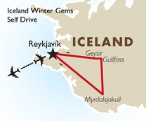 Iceland Winter Gems: Self Drive