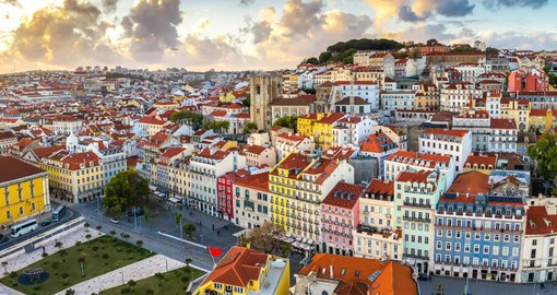 Explore Lisbon, coastal city located on the hills during your next Portugal vacation.