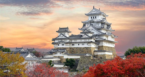 A highlight of your Japanese vacation is a visit to Himeji, widely considered Japan's most spectacular castle