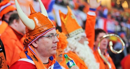 Dutch Soccer Supporters