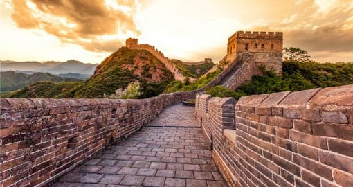 Start your China Vacation with a visit to The Great Wall