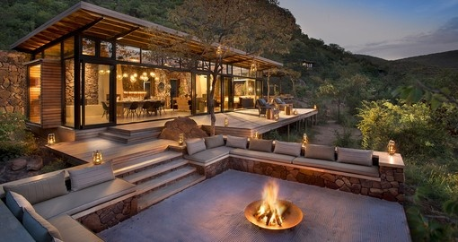 Experience all the amenities of the Marataba Trails Lodge during your next South Africa vacations.