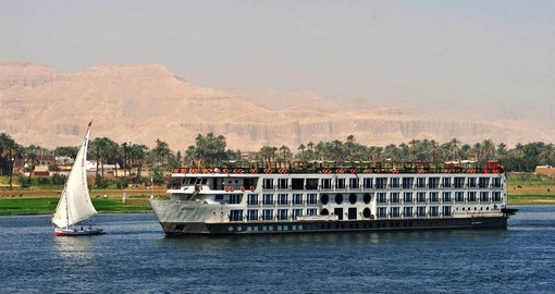 Cruise The Nile in style aboard the MS Mayflower