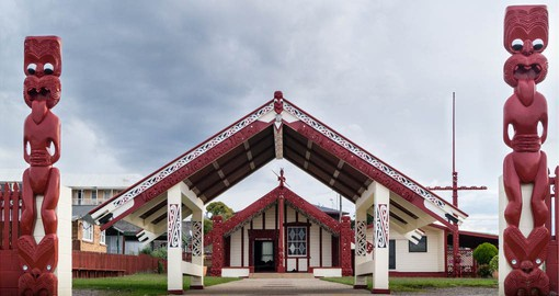 Rotorua is at the centre of the Maori culture