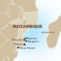 Mozambique Country Map
