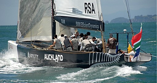 Auckland - home of the America's Cup