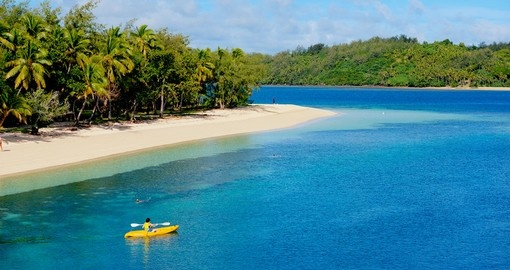 Enjoy Kayaking and other activities during your next Fiji vacations.