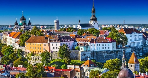 Tallinn - typically the starting point for all Estonia tours.