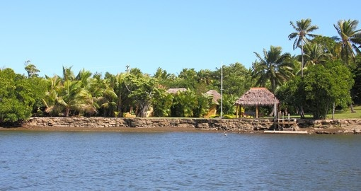 Enjoy Beautiful View of Vity Levu Island on your next Fiji vacations.