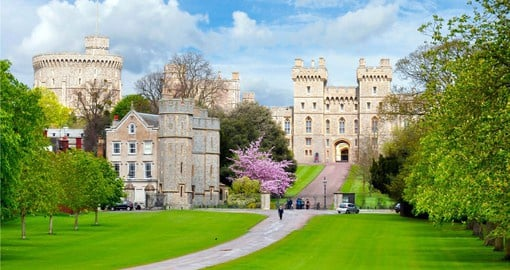 Travel to Windsor Castle on your England vacation