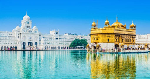 Golden Temple in Amritsar