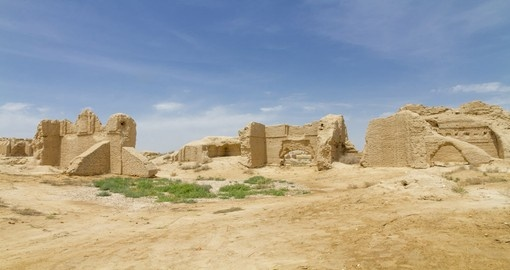 Visit the ruins of the Great City of Antiquity on your Turkmenistan Vacation