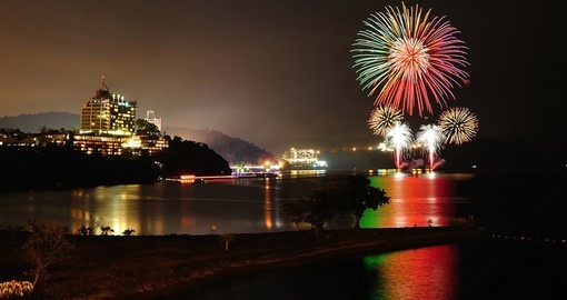 Fireworks - Sun Moon Lake