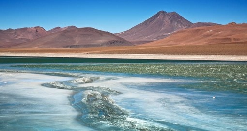 Enjoy Diamond Lagoon on your Chile Tour