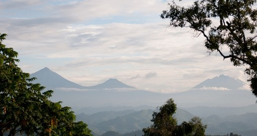 The stunning views of Rwanda